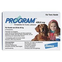 PROGRAM 409,8 mg 20-40 kg Tabl.f.Hunde 6 Stück - Vorderseite