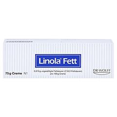 LINOLA fett Creme 75 Gramm N1 - Vorderseite