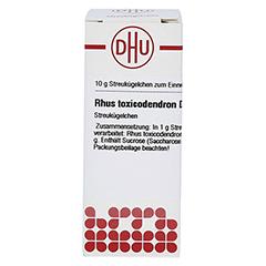 RHUS TOXICODENDRON D 12 Globuli 10 Gramm N1 - Vorderseite