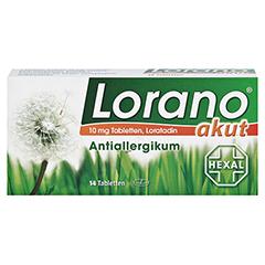 Lorano akut 14 Stück - Vorderseite