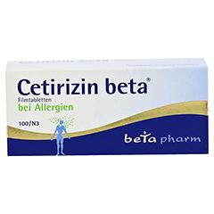 Cetirizin beta 100 Stück N3 - Vorderseite