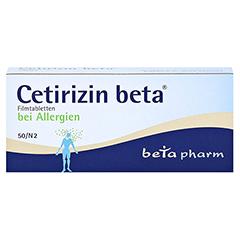 Cetirizin beta 50 Stück N2 - Vorderseite