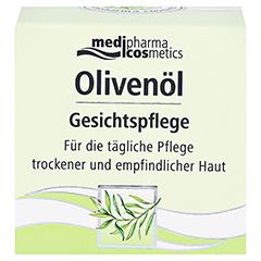 OLIVENÖL Gesichtspflege Creme 50 Milliliter - Vorderseite