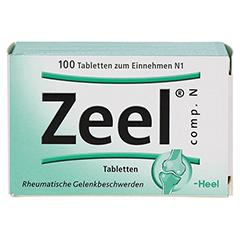 ZEEL comp.N Tabletten 100 Stück N1 - Vorderseite