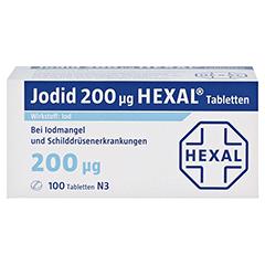 Jodid 200µg HEXAL 100 Stück N3 - Vorderseite