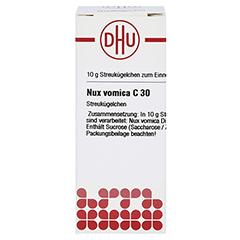 NUX VOMICA C 30 Globuli 10 Gramm N1 - Vorderseite