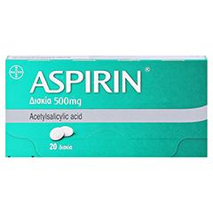 Aspirin 20 Stück - Vorderseite