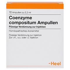 COENZYME COMPOSITUM Ampullen 10 Stück - Vorderseite