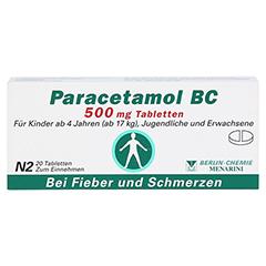 Paracetamol BC 500mg 20 Stück N2 - Vorderseite