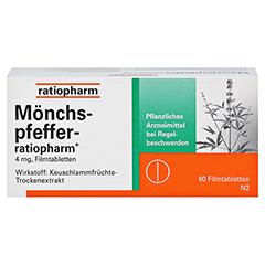 MÖNCHSPFEFFER-ratiopharm 4mg 60 Stück N2 - Vorderseite