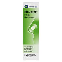 RINUPRET Pflege Nasenspray 15 Milliliter - Vorderseite