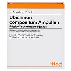UBICHINON comp.Ampullen 10 Stück - Vorderseite