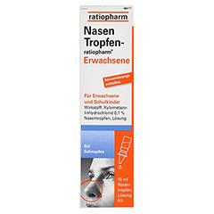 NasenTropfen-ratiopharm Erwachsene 10 Milliliter N1 - Vorderseite