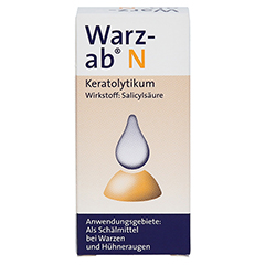 Warz-ab N 10 Milliliter N1 - Vorderseite
