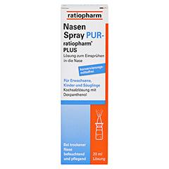 NASENSPRAY PUR-ratiopharm PLUS 20 Milliliter - Vorderseite