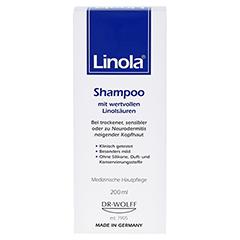 Linola Shampoo 200 Milliliter - Vorderseite