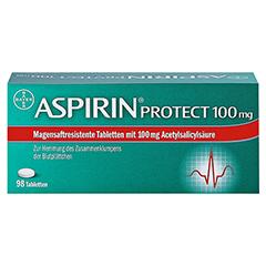 Aspirin protect 100mg 98 Stück N3 - Vorderseite