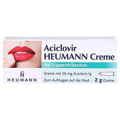 Aciclovir Heumann 2 Gramm N1 - Vorderseite