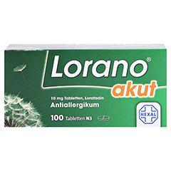 Lorano akut 100 Stück N3 - Vorderseite