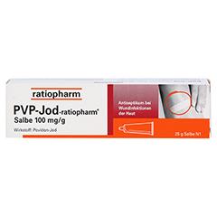 PVP-JOD-ratiopharm Salbe 25 Gramm N1 - Vorderseite