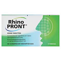 RhinoPRONT Kombi 12 Stück - Vorderseite