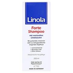Linola Shampoo Forte 200 Milliliter - Vorderseite