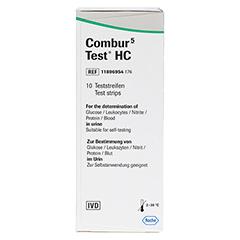 Combur 5 Test HC Teststreifen 10 Stück - Vorderseite