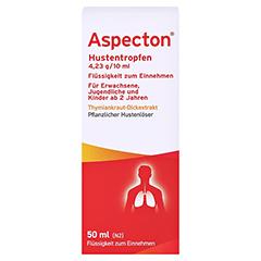 Aspecton Hustentropfen 50 Milliliter N2 - Vorderseite