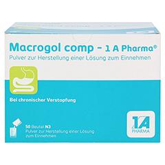 MACROGOL comp-1A Pharma Plv.z.Her.e.Lsg.z.Einn. 50 Stück N3 - Vorderseite