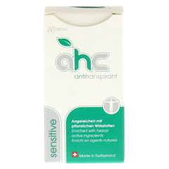 AHC sensitive Antitranspirant flüssig 30 Milliliter - Vorderseite