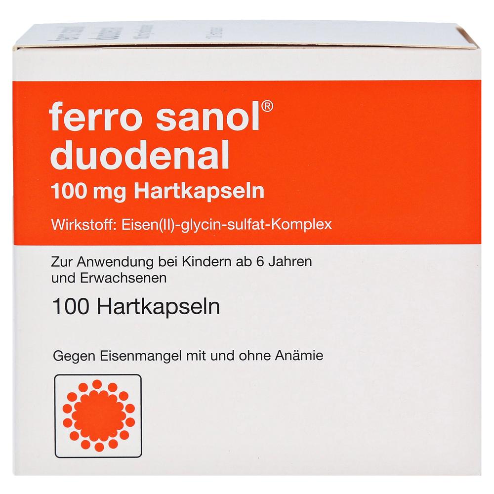 Sanol eisentabletten nebenwirkungen ferro Eisenmangel: Pflichtangaben