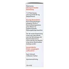 NasenSpray-ratiopharm Panthenol 20 Milliliter N2 - Linke Seite