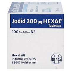 Jodid 200µg HEXAL 100 Stück N3 - Linke Seite