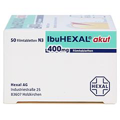 IbuHEXAL akut 400mg 50 Stück N3 - Linke Seite