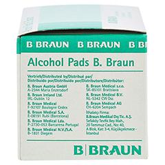 Alcohol Pads B. Braun Tupfer 100 Stück - Linke Seite