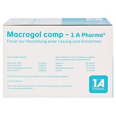 MACROGOL comp-1A Pharma Plv.z.Her.e.Lsg.z.Einn. 50 Stück N3 - Linke Seite