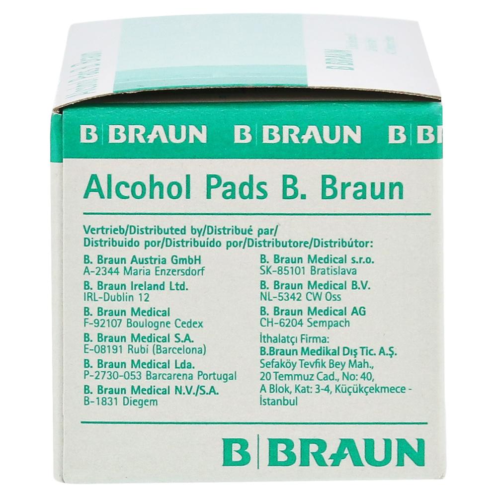 alcohol pads b braun tupfer 100 st ck online bestellen. Black Bedroom Furniture Sets. Home Design Ideas