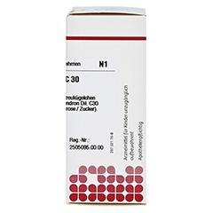 RHUS TOXICODENDRON C 30 Globuli 10 Gramm N1 - Rechte Seite