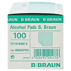 Alcohol Pads B. Braun Tupfer 100 Stück - Rechte Seite