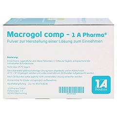 MACROGOL comp-1A Pharma Plv.z.Her.e.Lsg.z.Einn. 50 Stück N3 - Rechte Seite