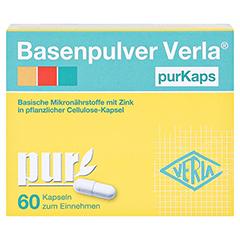 BASENPULVER Verla purKaps 60 Stück - Vorderseite