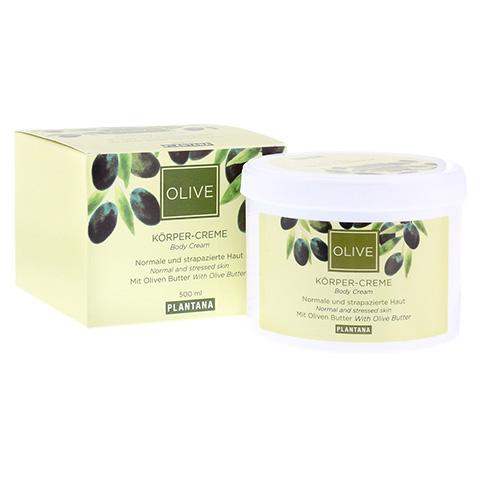 PLANTANA Olive Butter Körper Creme 500 Milliliter