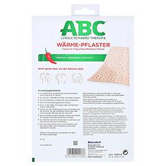 ABC Wärme-Pflaster Capsicum 11mg Hansaplast med 2 Stück - Rückseite