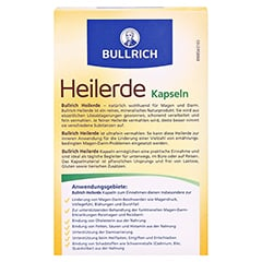 BULLRICHS Heilerde Kapseln 48 Stück - Rückseite