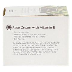 PLANTANA Sheabutter Gesichts Creme 50 Milliliter - Rechte Seite