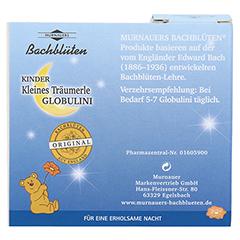 BACHBLÜTEN Kinder Kl.Träumerle Glob.n.Dr.Bach 10 Gramm - Rückseite