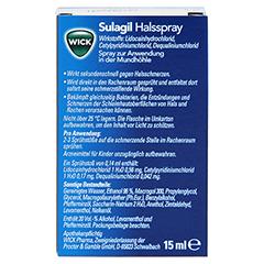 WICK Sulagil Halsspray 15 Milliliter - Rückseite
