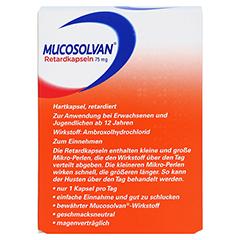 Mucosolvan 75mg 50 Stück N2 - Rückseite