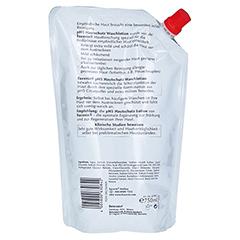 EUCERIN pH5 Protectiv Waschlotio Nachfüllbeutel 750 Milliliter - Rückseite