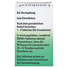 Laxoberal Abführ-Tabletten 5mg 50 Stück N3 - Rückseite